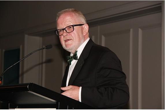 His Excellency, the Ambassador of Ireland, Breandon O'Caollai