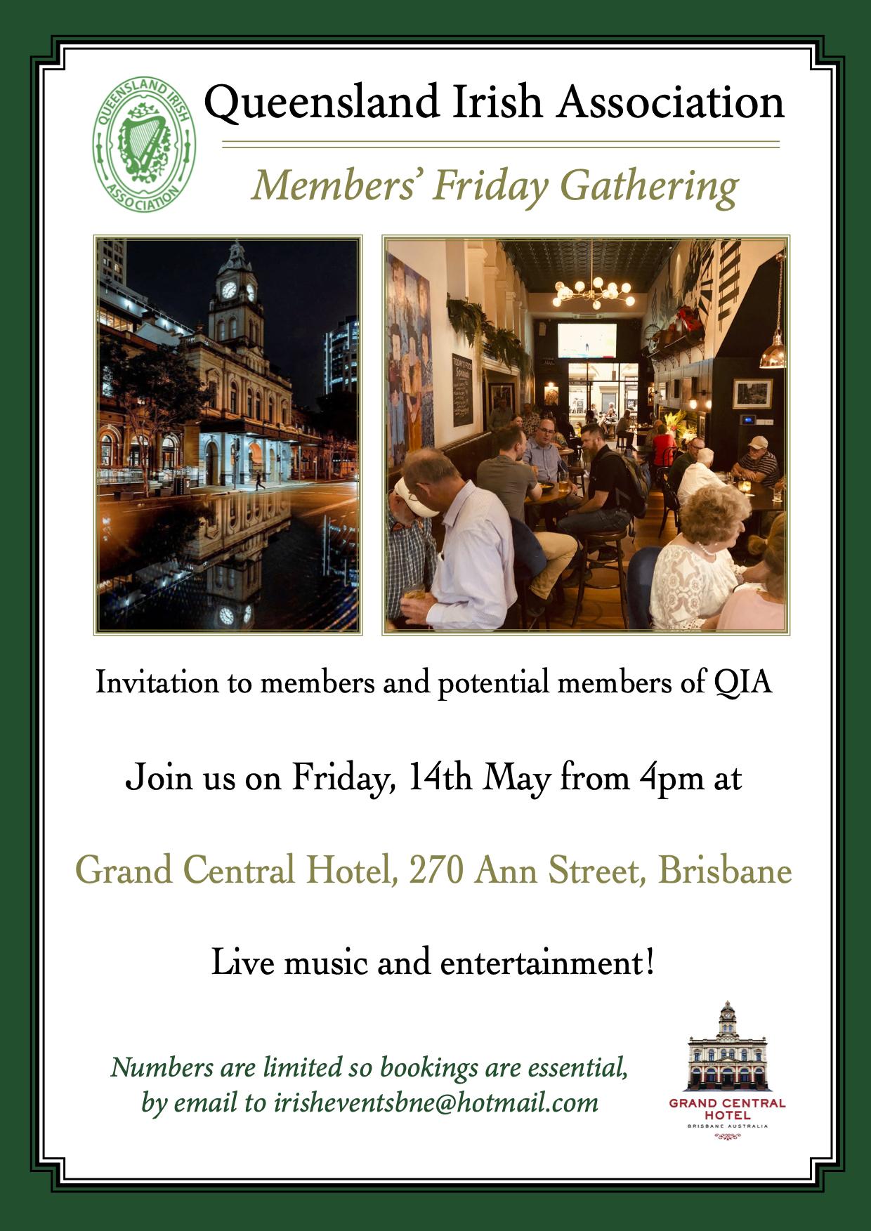 Members' Friday Gathering - April